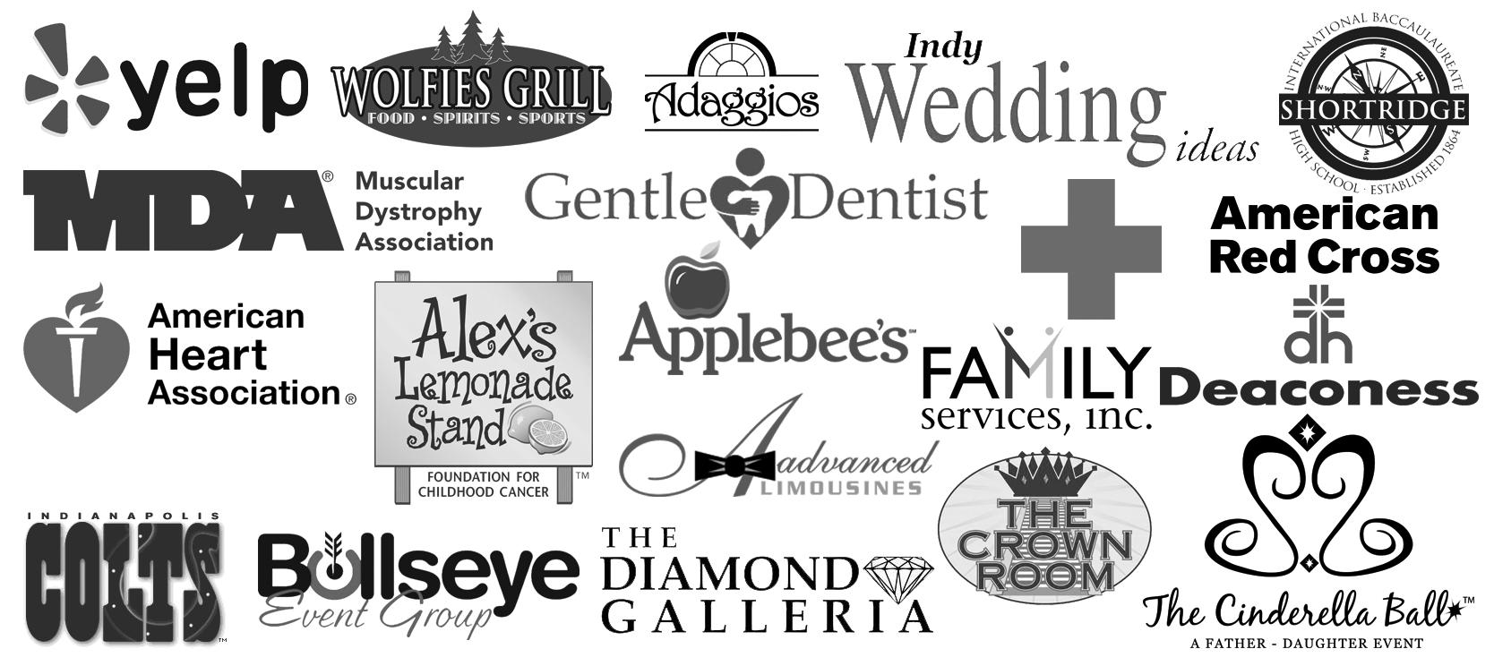 company logos combined_Greyscale